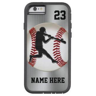 iPhone del NOMBRE y del NÚMERO 6 casos del béisbol Funda De iPhone 6 Tough Xtreme