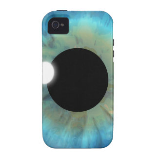 iPhone del ojo azul del eyePhone 4 casos del ambie Case-Mate iPhone 4 Fundas