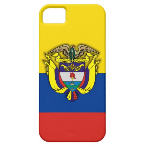 """iPhone del orgullo de Colombia"" 5 casos iPhone 5 Funda"