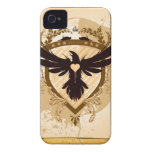 iphone del pájaro del amor Case-Mate iPhone 4 carcasas