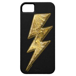 iPhone del rayo del oro 5 casos iPhone 5 Fundas