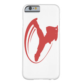 Iphone del rojo del molino de viento de BBOY Funda De iPhone 6 Barely There