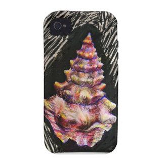 Iphone del Seashell iPhone 4/4S Funda