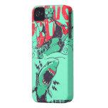 Iphone del tiburón iPhone 4 Case-Mate funda
