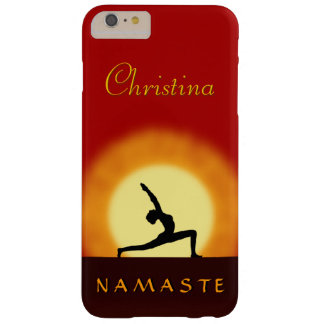 iPhone delgado de Namaste de la actitud de la Funda Para iPhone 6 Plus Barely There
