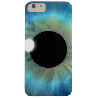 iPhone delgado del globo del ojo del ojo azul del Funda Barely There iPhone 6 Plus