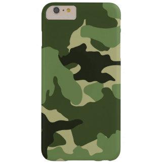 iPhone delgado militar verde de Camo 6 casos más Funda De iPhone 6 Plus Barely There