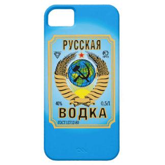 iPhone divertido Cas de la vodka de la marca de la iPhone 5 Fundas