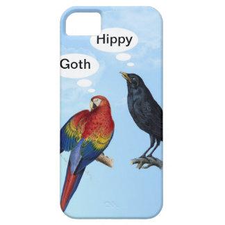Iphone divertido del hippy del gótico 5 casos iPhone 5 Case-Mate cárcasa