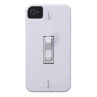 iPhone divertido del interruptor de la luz Case-Mate iPhone 4 Coberturas