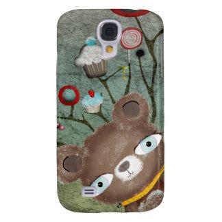 iPhone duro 3G/3GS del caso de Shell del oso delic