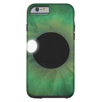 iPhone duro del globo del ojo del ojo verde del Funda Resistente iPhone 6
