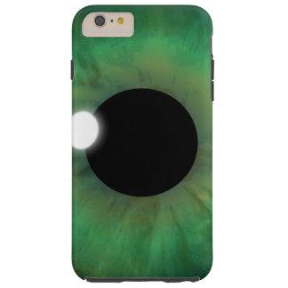 iPhone duro del globo del ojo del ojo verde del Funda Resistente iPhone 6 Plus