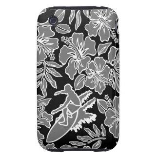 iPhone duro hawaiano 3GS de Pareau de la resaca Tough iPhone 3 Coberturas