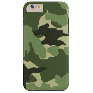 iPhone duro militar verde de Camo 6 6S más los Funda De iPhone 6 Plus Tough