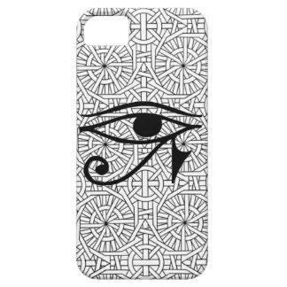 iPhone egipcio 5 de la casamata del ojo y del Funda Para iPhone 5 Barely There