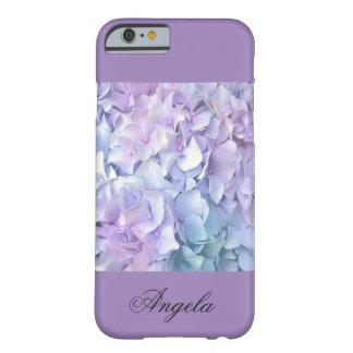 iPhone en colores pastel suave del Hydrangea/de la Funda Para iPhone 6 Barely There