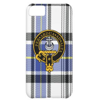 Iphone escocés i5C del escudo y del tartán de Hann Funda Para iPhone 5C