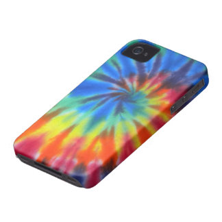 iPhone espiral azul 4 de la casamata del teñido Case-Mate iPhone 4 Protector