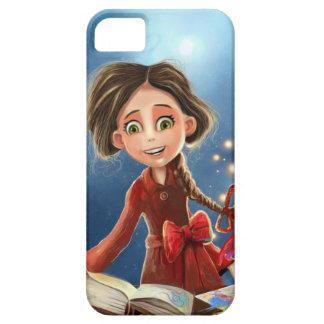 iPhone feliz del chica de la sonrisa 5 casos iPhone 5 Protector