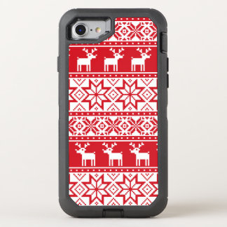 iPhone feo 7 del suéter del navidad Funda OtterBox Defender Para iPhone 7