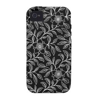 iPhone floral 4/4S de la casamata de la hoja de Case-Mate iPhone 4 Carcasas