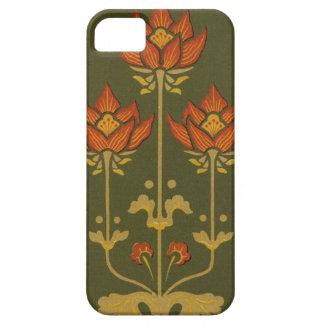 iPhone floral 5 de la casamata del Victorian iPhone 5 Carcasas
