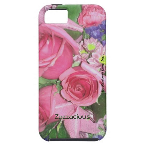 Iphone floral 5 de Zazzacious iPhone 5 Case-Mate Coberturas