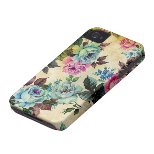 iPhone floral antiguo 4 de la casamata iPhone 4 Carcasas