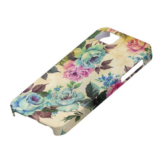 iPhone floral antiguo 5 de la casamata Funda Para iPhone SE/5/5s