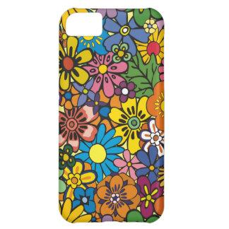 iPhone floral colorido agradable 5 de la piel Funda Para iPhone 5C