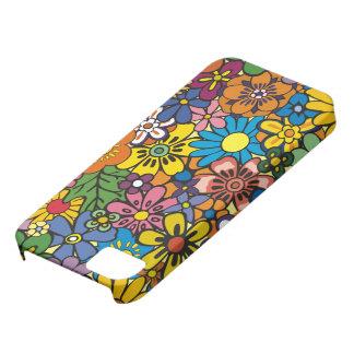 iPhone floral colorido agradable 5 de la piel Funda Para iPhone SE/5/5s