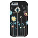 iPhone floral de moda 6 de la decoración Funda De iPhone 6 Tough
