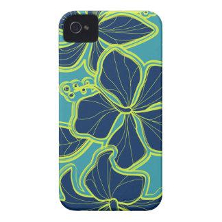 iPhone floral hawaiano del hibisco de Kailua 4 iPhone 4 Protectores