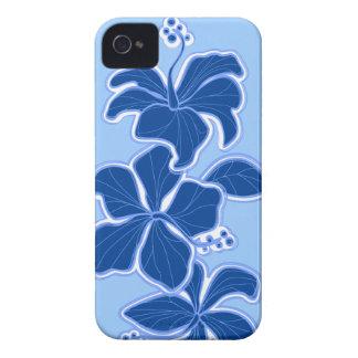 iPhone floral hawaiano del hibisco de Kailua 4 Case-Mate iPhone 4 Funda