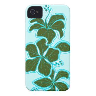 iPhone floral hawaiano del hibisco de Kailua 4 iPhone 4 Case-Mate Coberturas