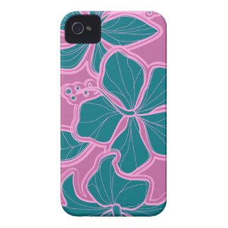 iPhone floral hawaiano del hibisco de Kailua 4 Case-Mate iPhone 4 Cobertura