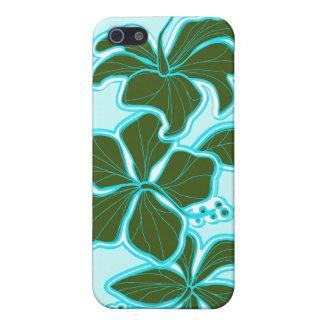 iPhone floral hawaiano del hibisco de Kailua 4 iPhone 5 Cárcasa