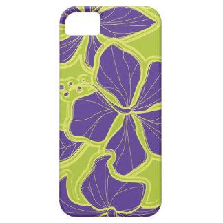 iPhone floral hawaiano del hibisco de Kailua 5 cas iPhone 5 Fundas