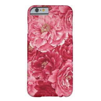 iPhone floral rosado 6 casos Funda Para iPhone 6 Barely There
