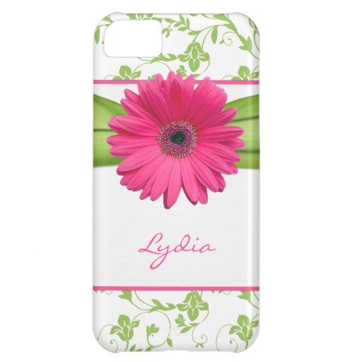 iPhone floral verde 5 de la margarita de Gerber de
