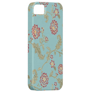Iphone floral vintage de motif 4 cas iPhone SE/5/5s case