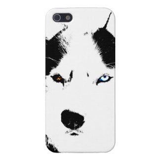 iPhone fornido 5 casos del Malamute del husky iPhone 5 Funda