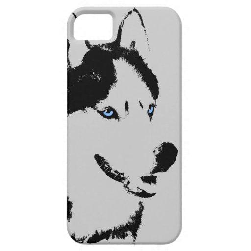iPhone fornido 5 casos del Malamute del husky sibe iPhone 5 Case-Mate Coberturas