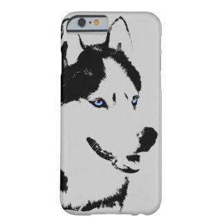 iPhone fornido 6 casos del Malamute del husky Funda De iPhone 6 Barely There