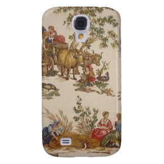 iPhone francés 3G/3GS del caso de Toile del país d Funda Para Galaxy S4
