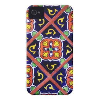 iPhone fresco 4 del diseño al sudoeste de la teja  iPhone 4 Case-Mate Protectores
