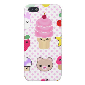iPhone Fruit Teddy Cupcake Kawaii Case