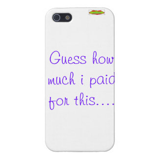 iphone funny question cover for iPhone SE/5/5s