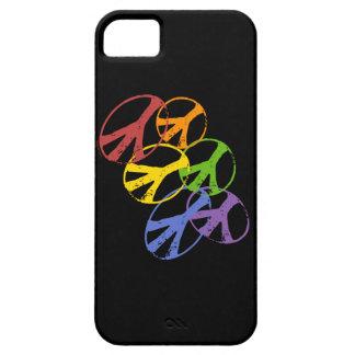 Iphone gay 5 del símbolo de paz funda para iPhone 5 barely there